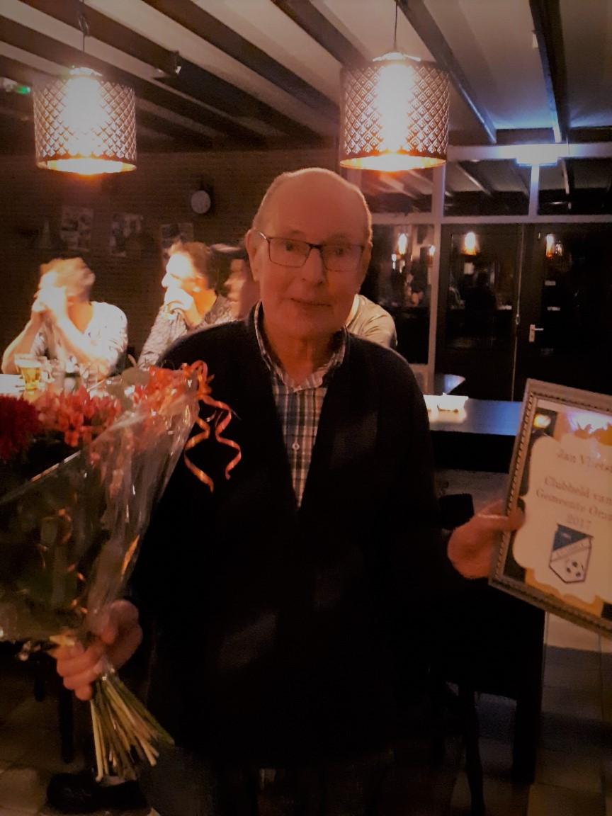 Jan Vlietstra, Clubheld van de Gemeente Ommen 2017
