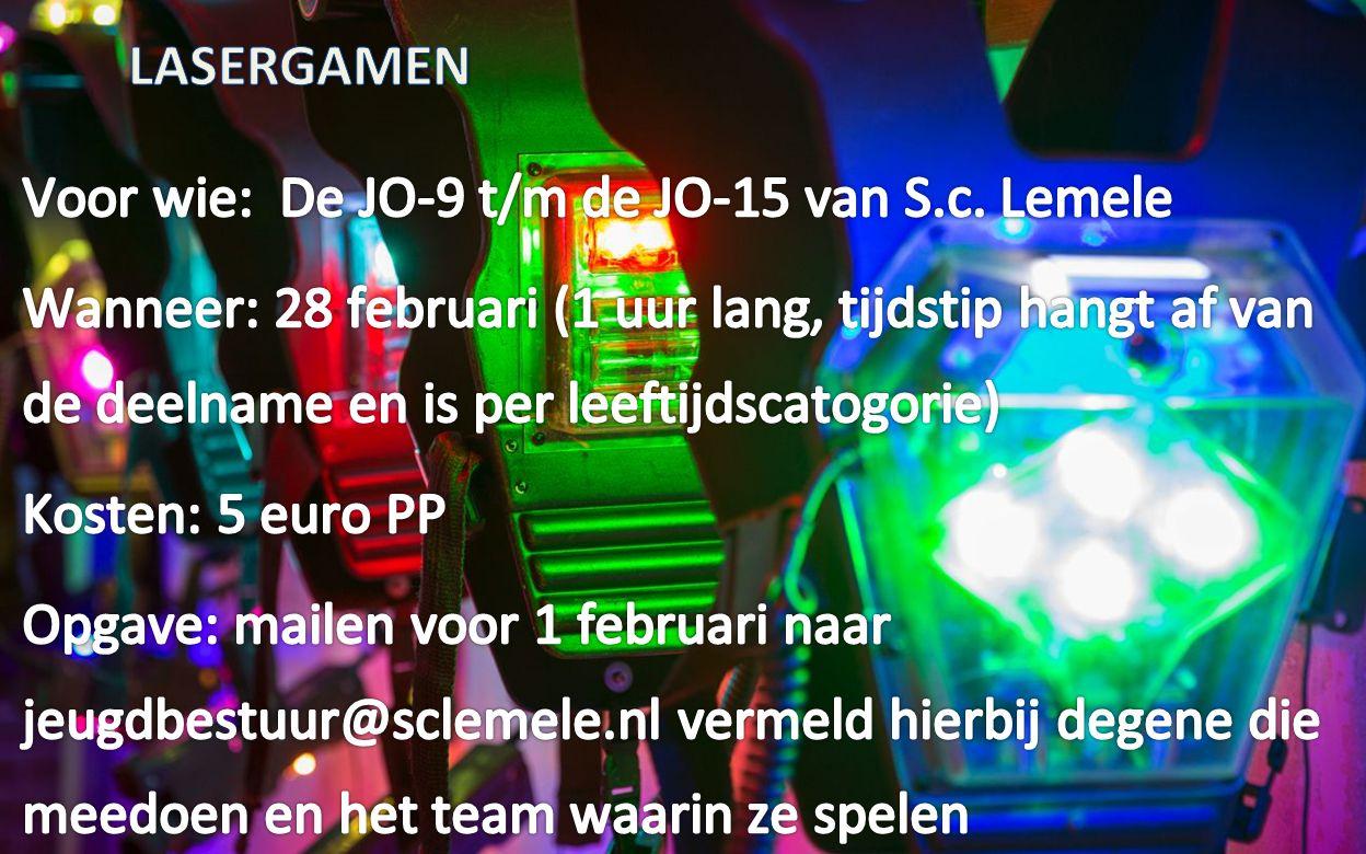 Lasergamen 28 februari