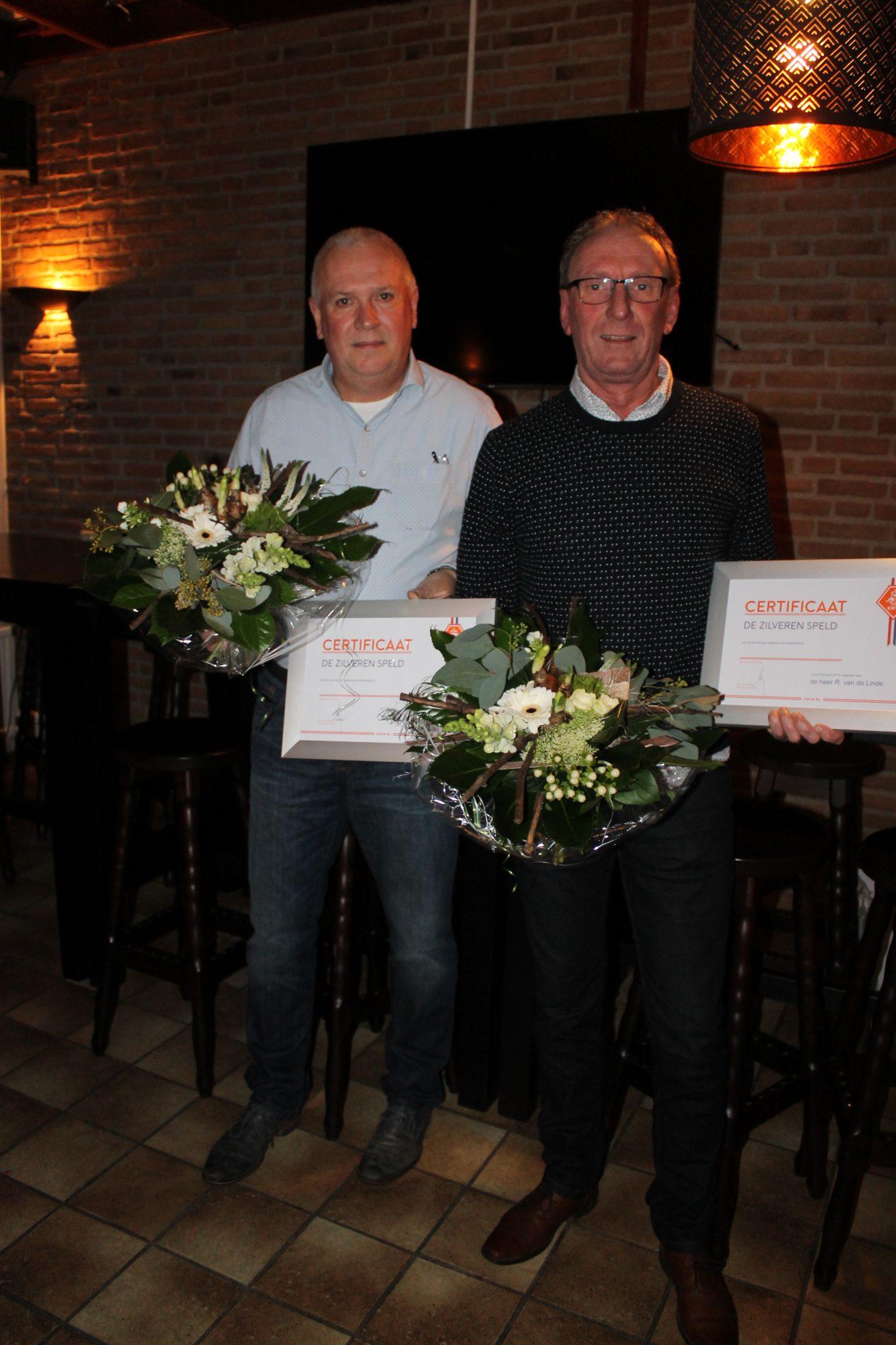 SC Lemele huldigt Berry Nijboer en René van der Linde