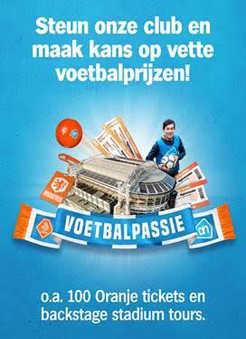 Voetbalpassie bij Albert Heijn en maak kans op prachtige prijzen!